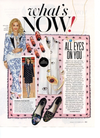 InStyle Oct. '13 Eye Trend Story